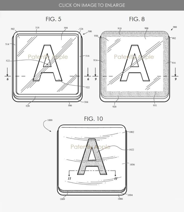 Apple разработала клавиатуру для Mac, у которой никогда не сотрутся кнопки