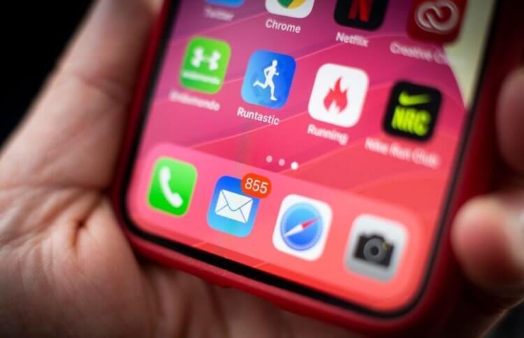 Почему «Почта» Apple показывает непрочитанное сообщение и как исправить