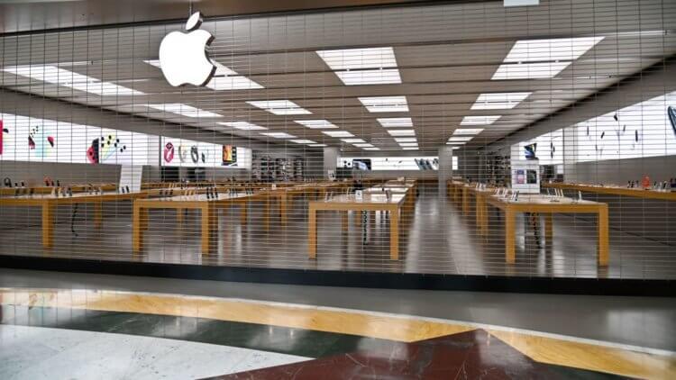 Apple продолжает закрывать свои магазины. iPhone 12 под угрозой?