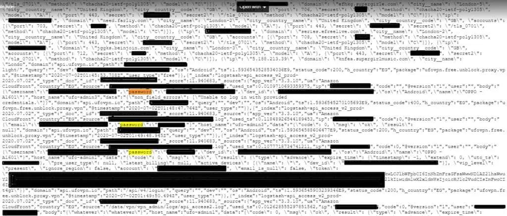 1,2 Тб логов утекли у VPN-провайдеров, не хранивших логи