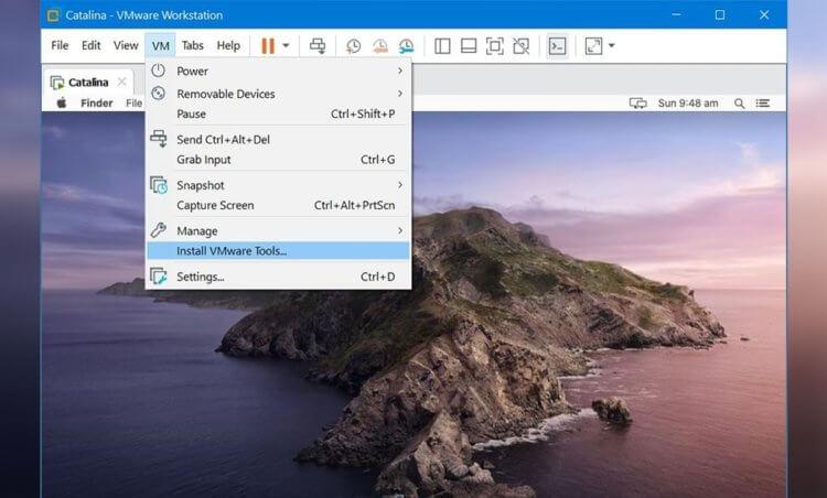 Почему на macOS Catalina 10.15.6 не запускается виртуальная машина