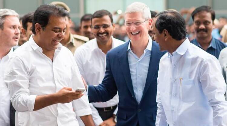 Где Apple будет делать iPhone при плохих отношениях с Китаем