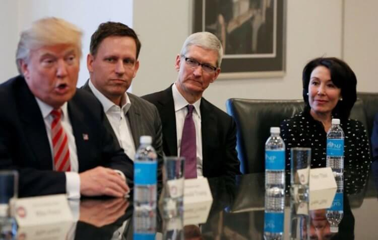 Дональд Трамп готов пожертвовать продажами iPhone в Китае и всё равно запретит WeChat