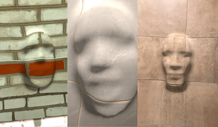 Устали от 3д животных в Google? Попробуйте сделать свое лицо из стены!