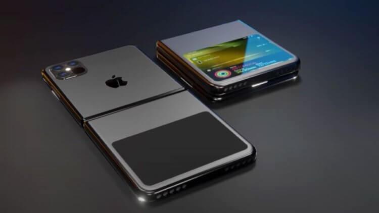 Неужели складной iPhone действительно существует? Похоже, да