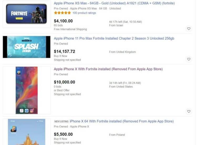 Apple против Epic Games (Fortnite): хронология конфликта