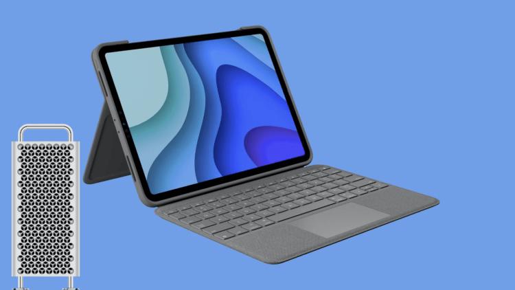 Новая угроза аксессуарам Apple: клавиатура для iPad и колесики на Mac Pro