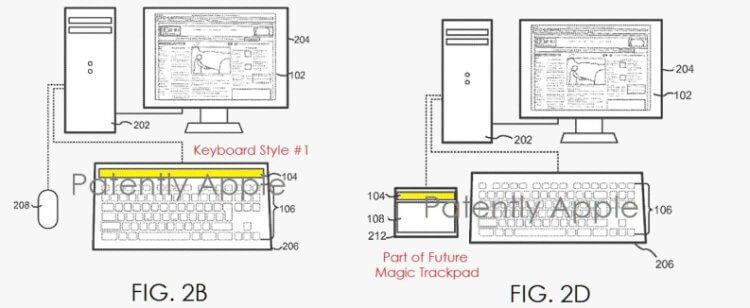 Apple изобрела умную ткань для iPad и хочет встроить Touch Bar везде
