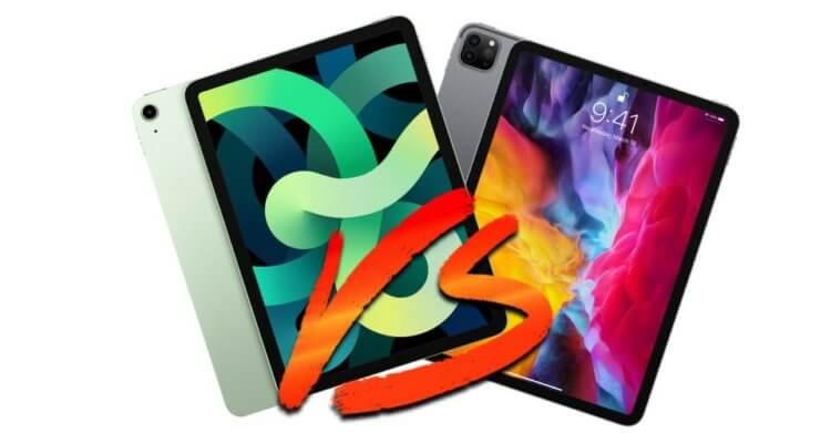 Что лучше купить — iPad Pro 11 или iPad Air 2020