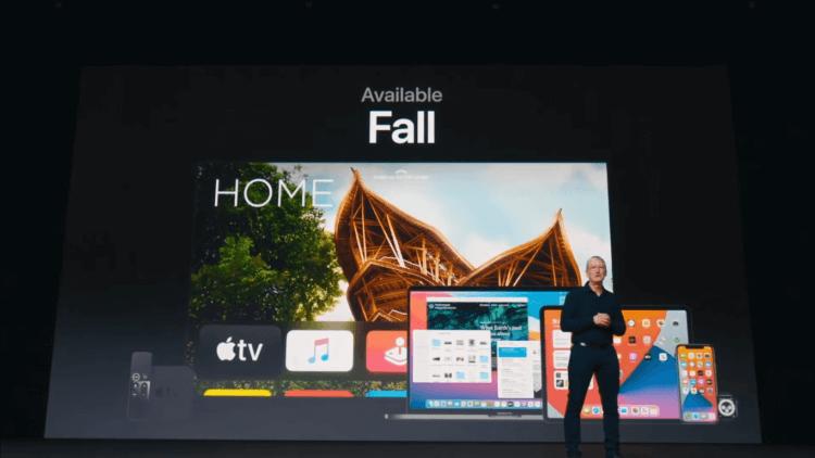 iOS 14 и iPadOS 14 выйдут раньше, чем watchOS 7, tvOS 14 и macOS 11
