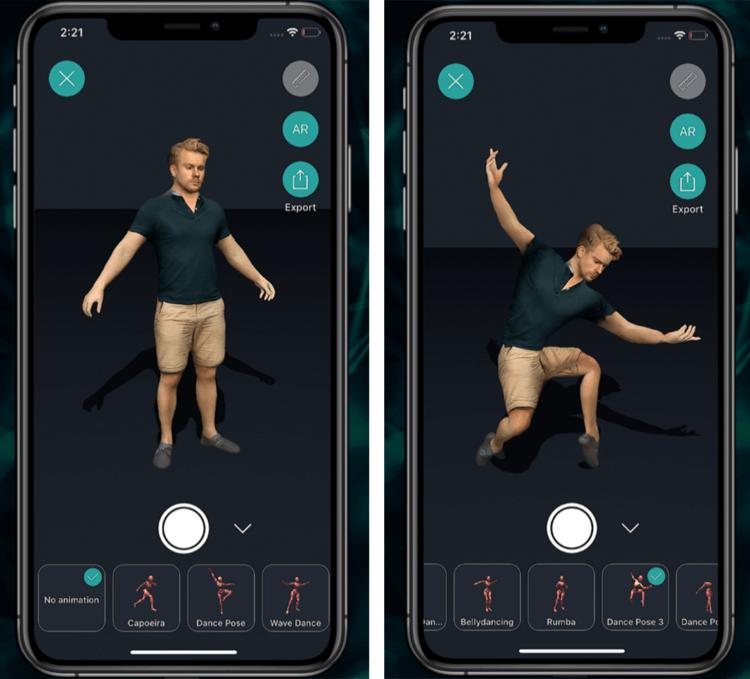 Как сделать 3D копию себя на iPhone и iPad