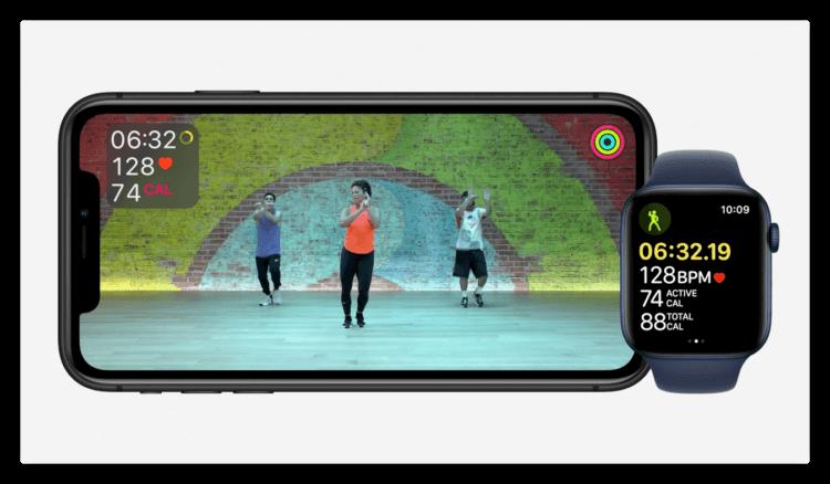 Apple представила новый сервис для занятий спортом Fitness+