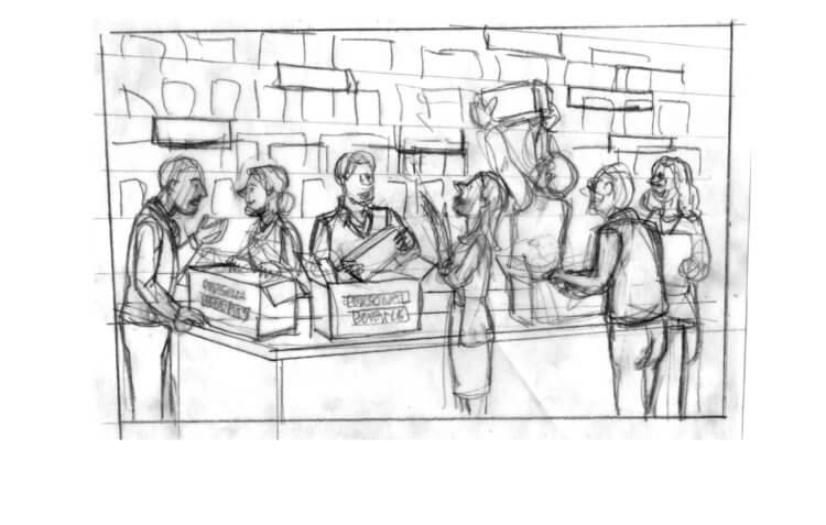 Торговый центр «Яблоко»: преступление и наказание
