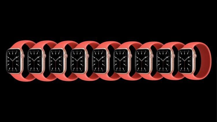 Представлены Apple Watch Series 6 с измерением уровня кислорода в крови
