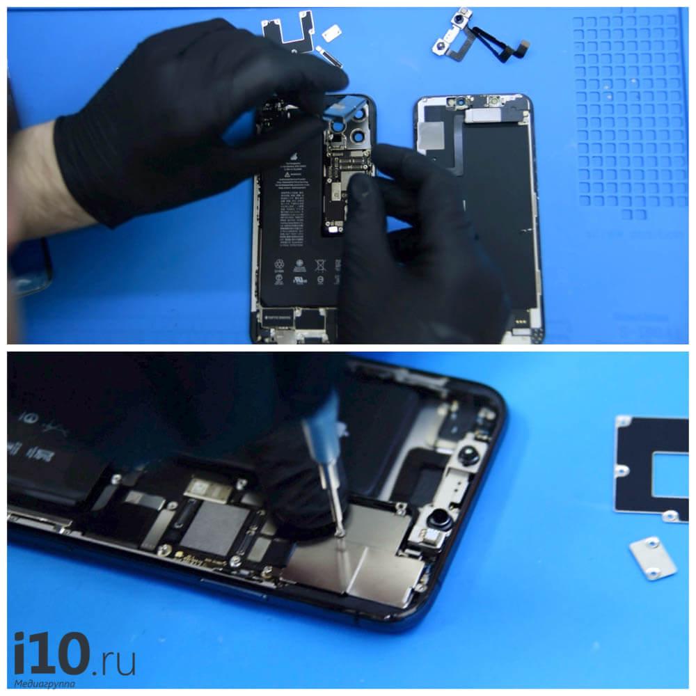 Как меняют заднее стекло на iPhone. Спойлер — настоящим лазером!