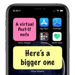 Виджет заметок на iPhone и редактор фото — скидки в App Store