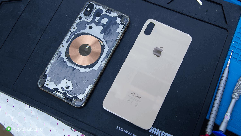 Разбили заднее стекло iPhone? Замените его в два раза дешевле!