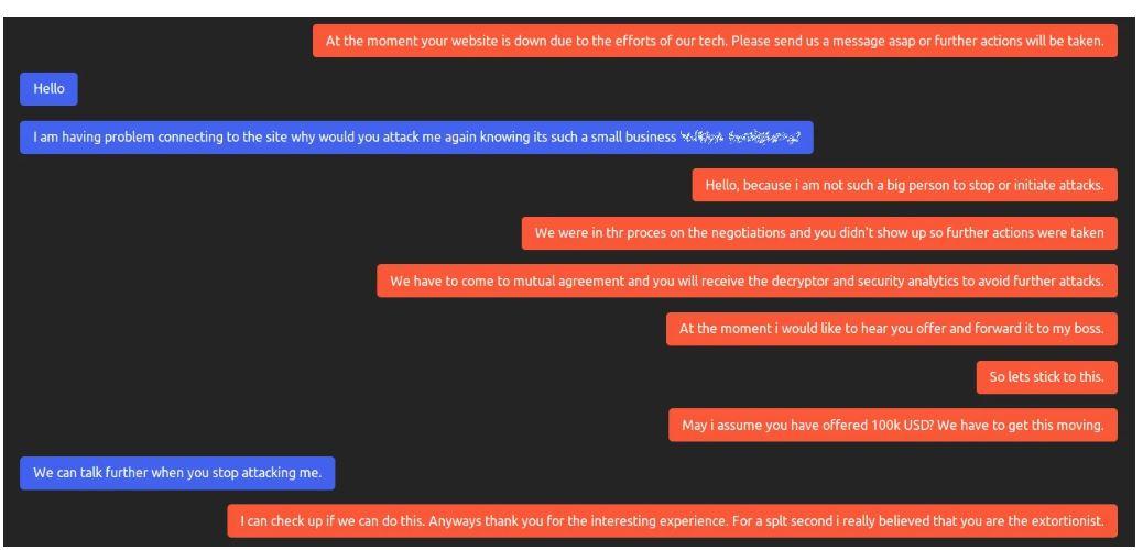 Операторы шифровальщиков расширяют свой арсенал DDoS-атаками