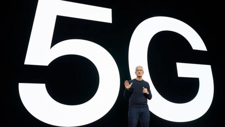 Как работа в сетях 5G влияет на автономность iPhone 12
