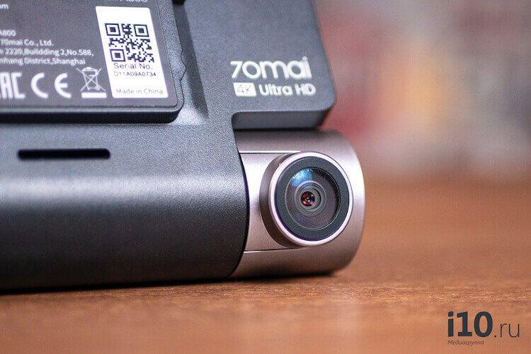 Видеорегистратор 4K — обзор Xiaomi 70mai A800