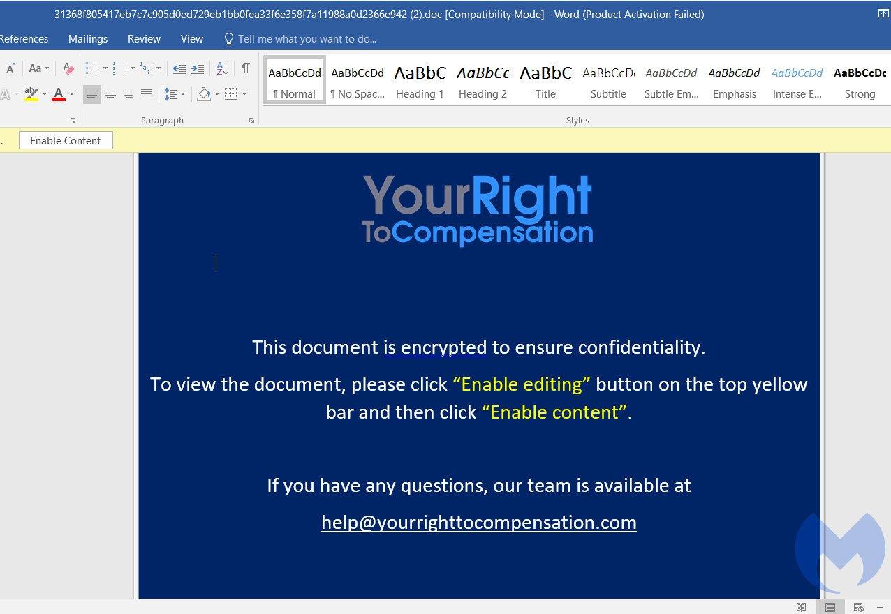Злоумышленники используют службу Windows Error Reporting для бесфайловых атак