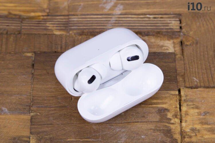 Apple начала бесплатно менять AirPods Pro, если они издают треск или не работает шумоподавление