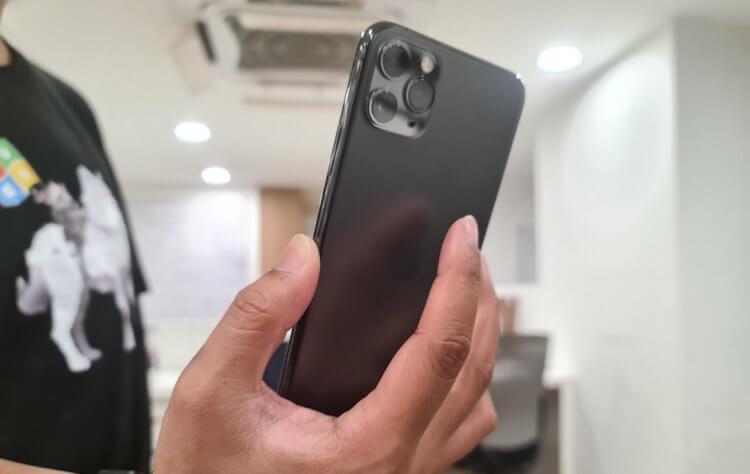 Почему iPhone не распознаёт постукивания по задней крышке