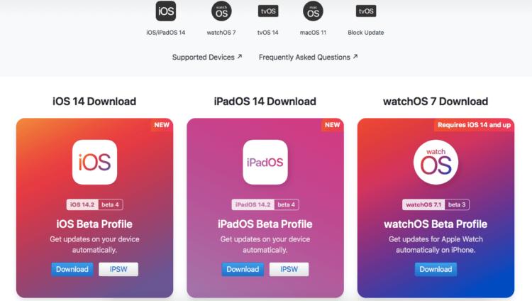Apple выпустила iOS 14.2 beta 4 для разработчиков. Что нового и как скачать