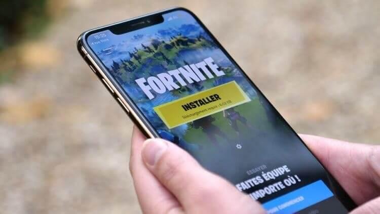 Создатель Fortnite назвал правила App Store незаконными