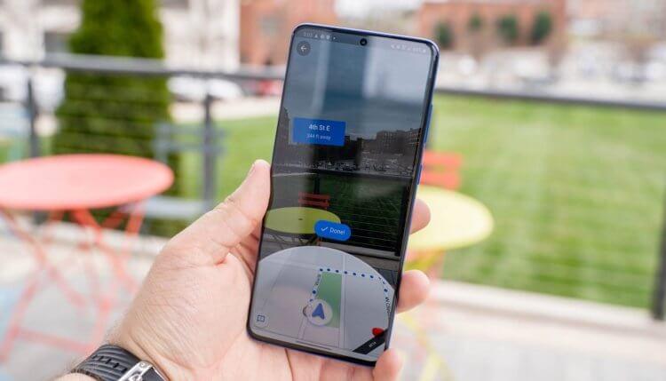 Учись, Apple: В Google Maps для iOS появился продвинутый AR-режим