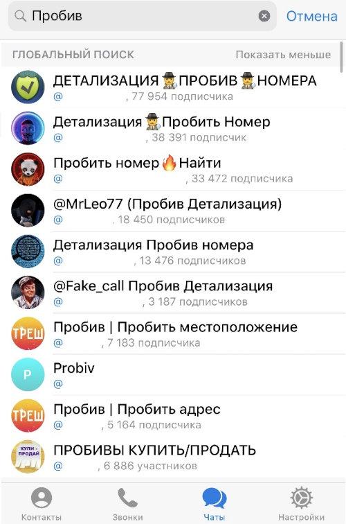 Пробей меня полностью! Кто, как и за сколько пробивает персональные данные в России