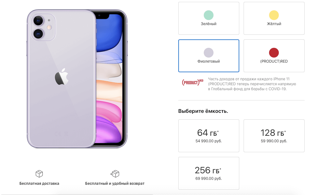 На сколько iPhone 12 подорожал по сравнению с iPhone 11