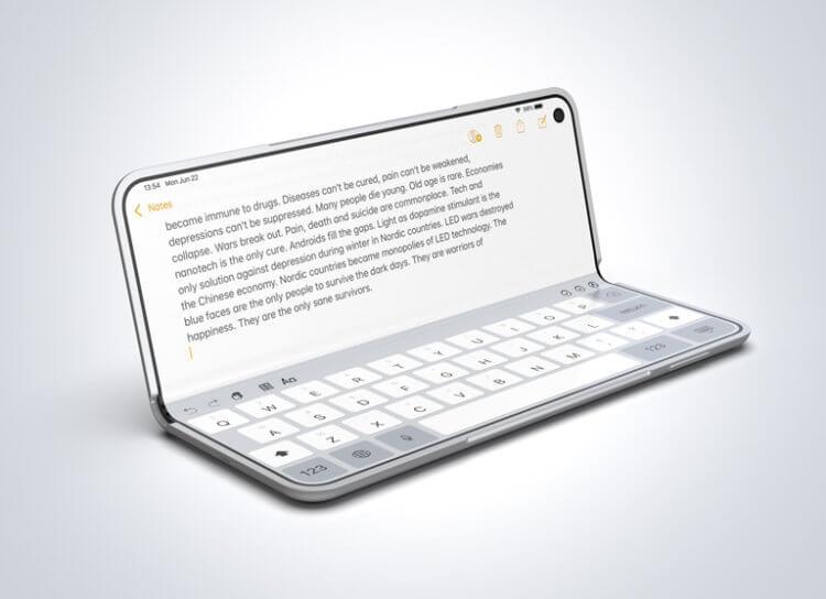 Apple разрабатывает экран для iPhone, который сам убирает царапины и вмятины
