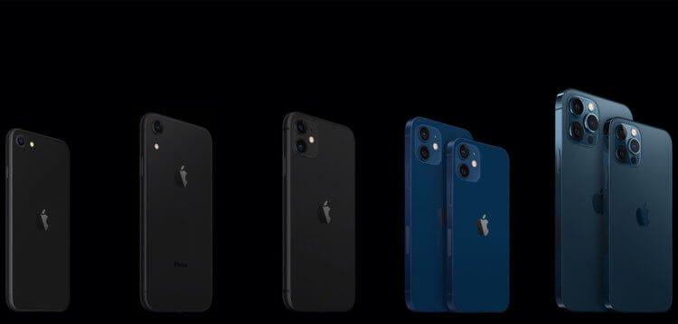Ты чего такой тонкий? Сравнение размеров iPhone 11 и iPhone 12