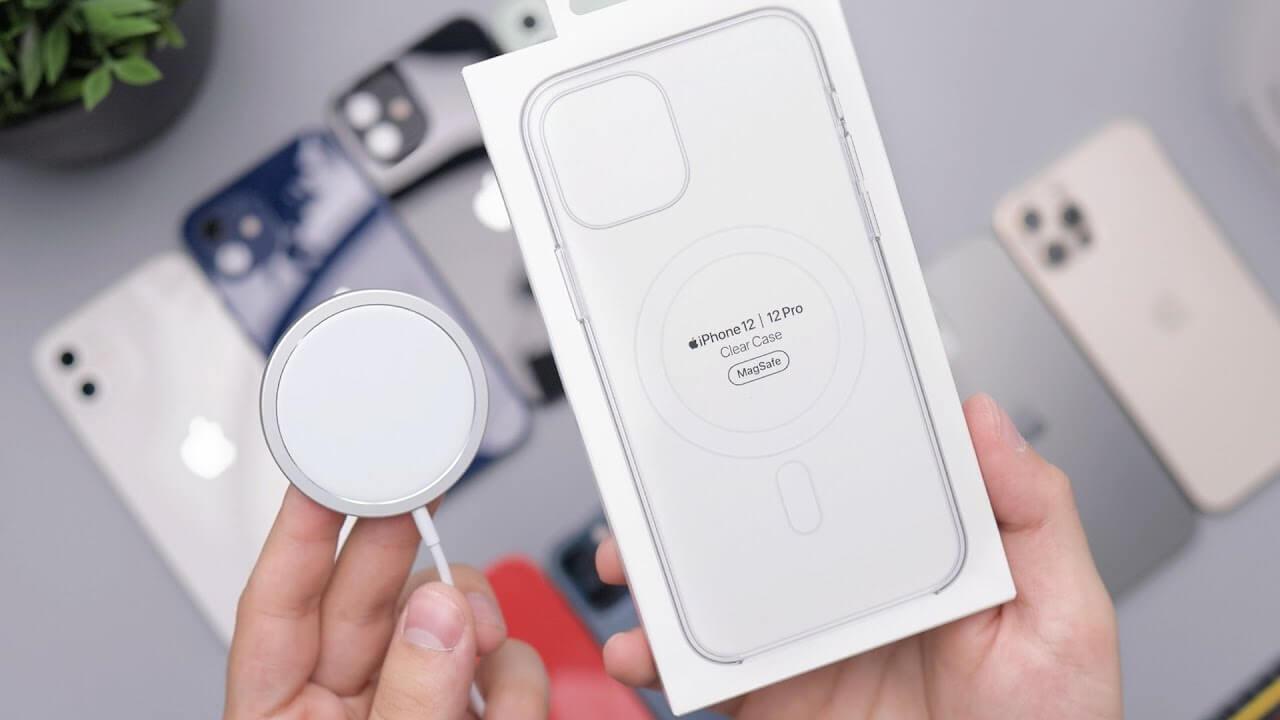 MagSafe заряжает iPhone 12 на максимальной мощности только с одним адаптером