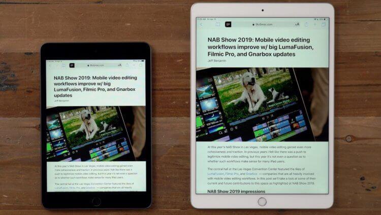 Почему iPad mini 5 стоит дороже, чем iPad 8, при одинаковом железе