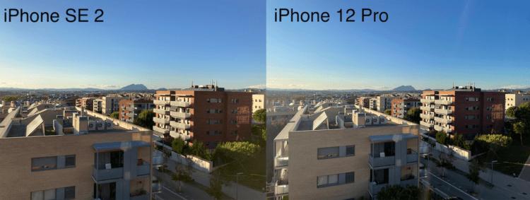 Сравнение фото на iPhone SE 2 и iPhone 12 Pro: а вы отличите их?