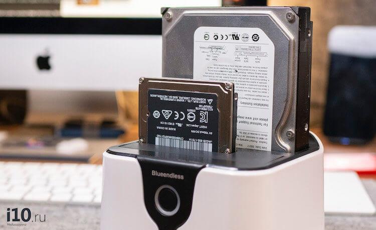 Как скопировать данные со старого HDD на MacBook, iMac и другие компьютеры
