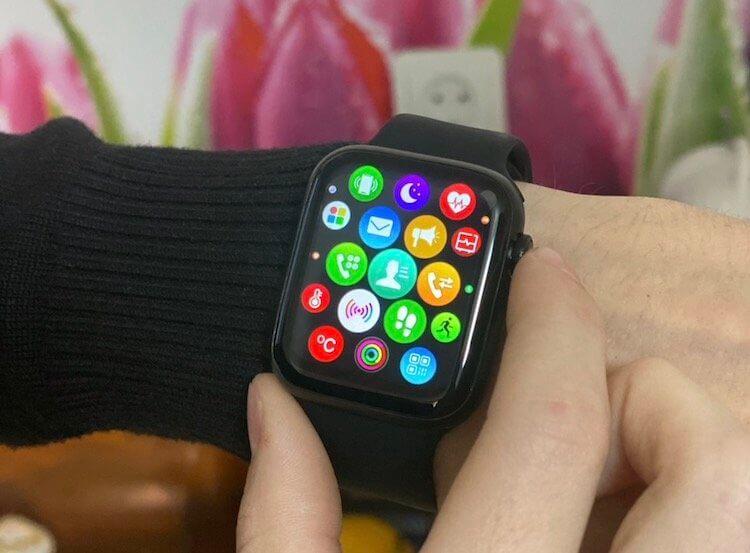 Копию Apple Watch Series 6 можно купить за 1 500 рублей, но я бы не стал