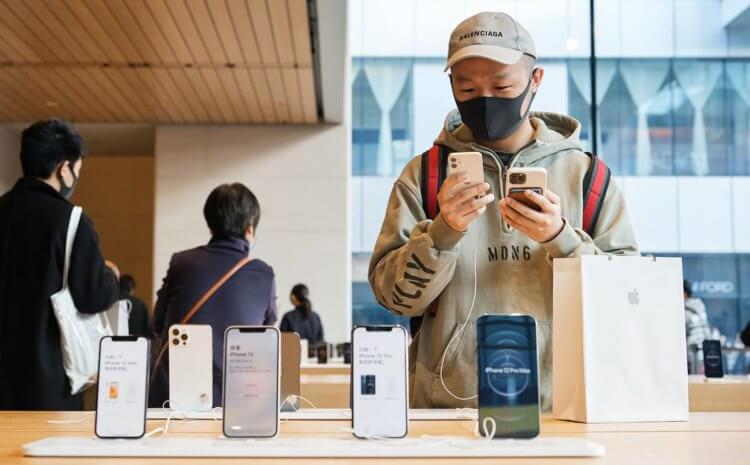 Где дешевле всего купить официальный iPhone 12 в России