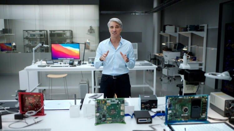 В Apple рассказали, почему MacBook Pro на чипе M1 оказался мощнее MacBook Air