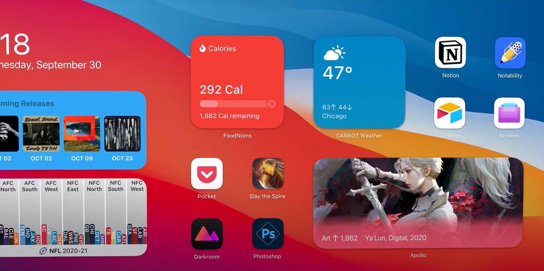 Вот почему в iPadOS 14 нет виджетов, как на iPhone