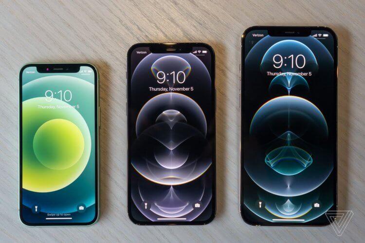 В России начались предзаказы на iPhone 12 mini и iPhone 12 Pro Max