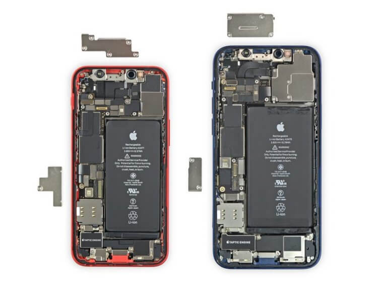 Заглянули внутрь iPhone 12 mini: как Apple сделала его таким маленьким?