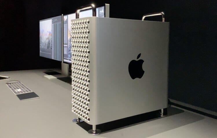Apple работает над новым Mac Pro — он будет в два раза меньше