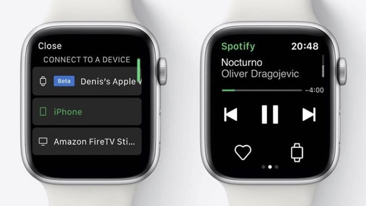 Теперь Spotify можно будет слушать на Apple Watch даже без iPhone