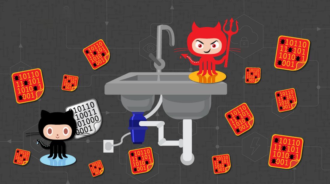 Ботнет Gitpaste-12 распространяется посредством GitHub и Pastebin