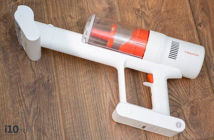 Обзор Trouver Power 11: Маленький, легкий, недорогой пылесос