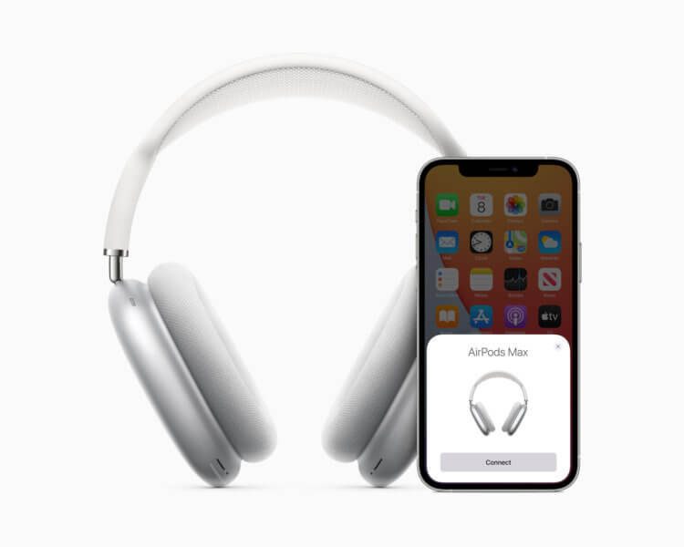 Apple представила AirPods Max — первые полноразмерные наушники компании