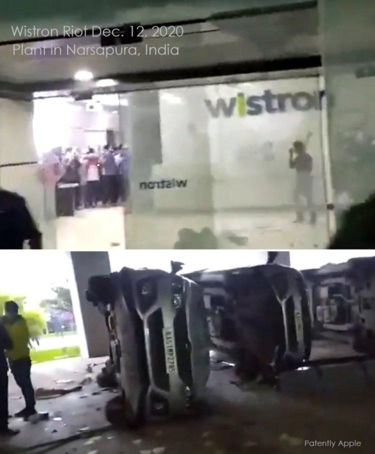 Рабочие подожгли завод по производству iPhone из-за задержек зарплаты
